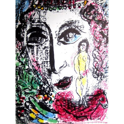 CHAGALL Marc - L´APPARITION AU CIRQUE